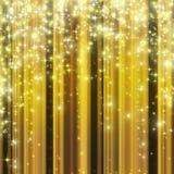 Priorità bassa di celebrazione dell'oro   Fotografie Stock