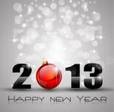Priorità bassa di celebrazione di nuovo anno 2013 Fotografie Stock Libere da Diritti