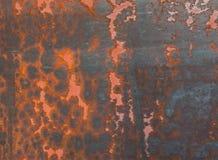 Priorità bassa di Grunge dell'estratto di struttura della ruggine del metallo Fotografia Stock Libera da Diritti
