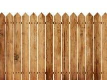 Priorità bassa di legno della rete fissa Fotografia Stock Libera da Diritti