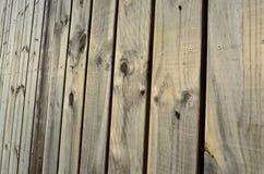 Priorità bassa di legno della rete fissa Fotografie Stock Libere da Diritti