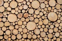 Priorità bassa di legno delle mattonelle Immagini Stock Libere da Diritti