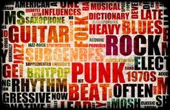 Priorità bassa di musica Immagini Stock