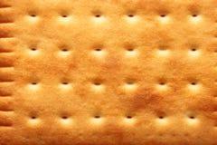 Priorità bassa di struttura dei biscotti del biscotto del primo piano Immagine Stock Libera da Diritti