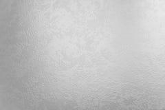 Priorità bassa di vetro d'argento chiara Immagine Stock Libera da Diritti