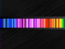 Priorità bassa di vettore con lo spettro di colore Fotografie Stock Libere da Diritti