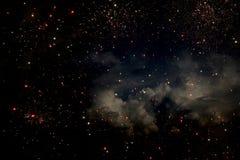 Priorit? bassa ed estratto Galassia, nebulosa e struttura stellata dello spazio cosmico immagini stock libere da diritti