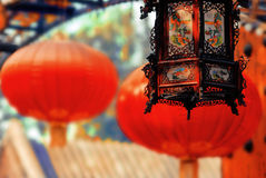 Priorità bassa festiva cinese Fotografia Stock