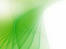 Priorità bassa futuristica verde molle Fotografia Stock Libera da Diritti
