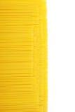 Priorità bassa gialla della pasta Fotografie Stock
