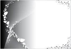 Priorità bassa grigia astratta Fotografie Stock