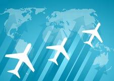 Priorità bassa internazionale di comunicazione Immagine Stock Libera da Diritti