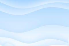 Priorità bassa lenitiva ondulata blu-chiaro astratta Fotografia Stock Libera da Diritti