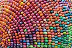 Priorità bassa orientale delle uova Immagini Stock Libere da Diritti