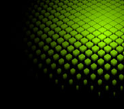 priorità bassa verde dinamica astratta 3d Fotografia Stock Libera da Diritti