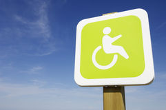 Priority for the disabled Stock Photos