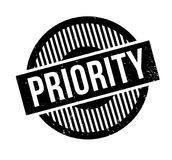 Priority rubber stamp. Grunge design with dust scratches. Effects can be easily removed for a clean, crisp look. Color is easily changed Stock Photos