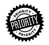 Priority rubber stamp. Grunge design with dust scratches. Effects can be easily removed for a clean, crisp look. Color is easily changed Stock Photography