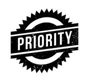 Priority rubber stamp. Grunge design with dust scratches. Effects can be easily removed for a clean, crisp look. Color is easily changed Stock Images