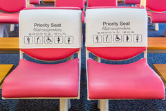 Free Priority Seat For Special Person Stock Images - 33201194