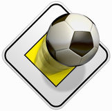 Priority soccer Royalty Free Stock Photography