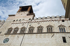 Priors Palace. Perugia. Umbria. Royalty Free Stock Photos