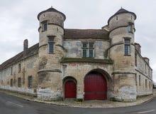Priorskloster av Moussy Royaltyfri Fotografi