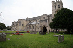 Priory Church, Christchurch, Dorset. Stock Images