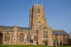 Dunster Church Somerset England Royalty Free Stock Photo
