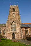 Dunster Church Somerset England Stock Image