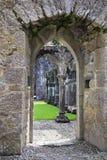 Priory de Portumna de ruines Photos libres de droits