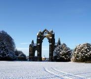 Priory di Gisborough, Yorkshire del nord Fotografia Stock