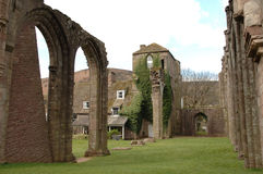 Priory di Llanthony Fotografie Stock