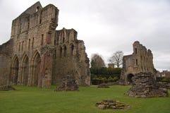 Priory et ruines de Wenlock photographie stock libre de droits