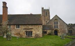 Priory Farmhouse Stock Image