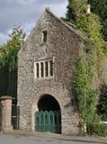 Priory-Gatter, Usk Lizenzfreies Stockbild