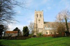 Priory im Winter Lizenzfreie Stockbilder