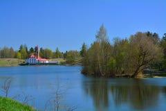 Priory pałac Gatchina petersburg Rosji st Obraz Royalty Free