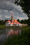 Priory palace in Gatchina Royalty Free Stock Photo