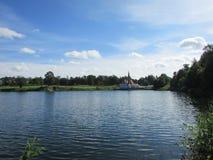 Priory Palace, Gatchina. Priory Palace in Gatchina Park Royalty Free Stock Photography