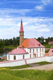 Priory Palace in Gatchina, Russia built in 1799 Stock Images