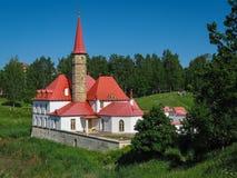 Priory Palace, Gatchina, Russia Stock Photos
