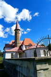 Priory Palace. Gatchina. Russia. Priory Palace Priory is situated in the south-eastern shore of the Black Lake. Built in 1799 for Paul I Royalty Free Stock Photography