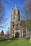 The Priory and Parish Church of St Mary, Lancaster. Entrance to the Priory and Parish Church of St Mary, Lancaster or Lancaster Priory as it is often know royalty free stock image