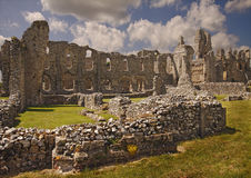 Priory ruins Royalty Free Stock Photography