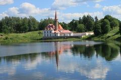 Priorypalast Konstruiert für den russischen großartigen Priory der Ordnung von Johannes, wurde er der Ordnung durch eine Verordnu Lizenzfreie Stockfotografie
