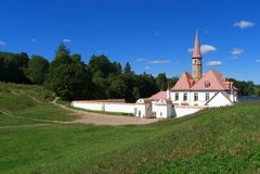 Priorypalast Konstruiert für den russischen großartigen Priory der Ordnung von Johannes, wurde er der Ordnung durch eine Verordnu Stockfoto