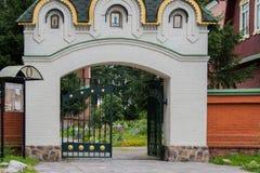 Priozersk, Rusland, 14 Augustus, 2016: Al Samenstelling van Heiligenpriozerskoe Royalty-vrije Stock Foto's
