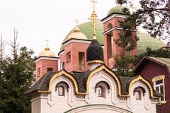 Priozersk, Russland, am 14. August 2016: Alles Heilige Priozerskoe-Mittel stockbilder