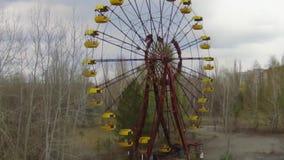 """Pripyat†""""spookstad dichtbij Tchernobyl stock videobeelden"""